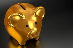 kultainen säästöpossu